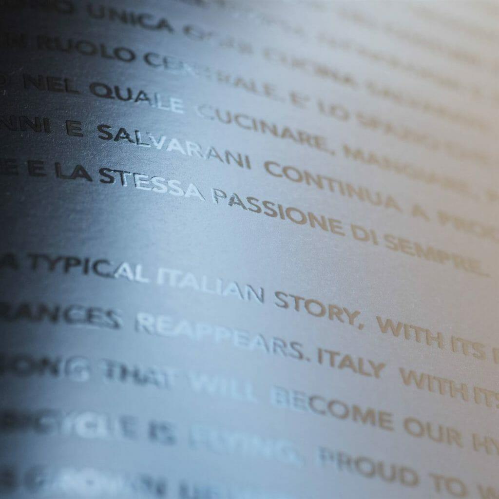 serigrafia spessorata