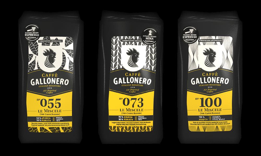 etichette gallonero caffe