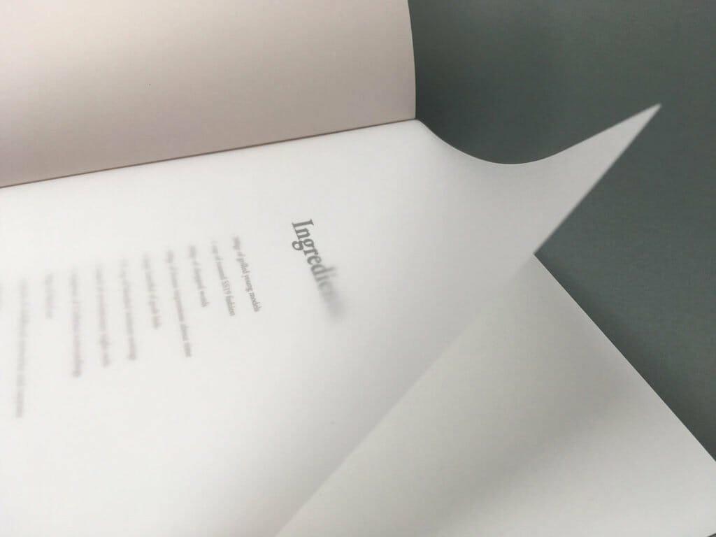 carta velina stampata