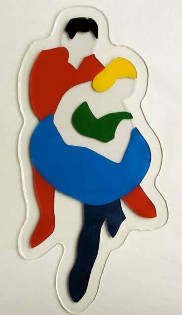 Lodola Marco, Ballerini - Plexiglass sagomato