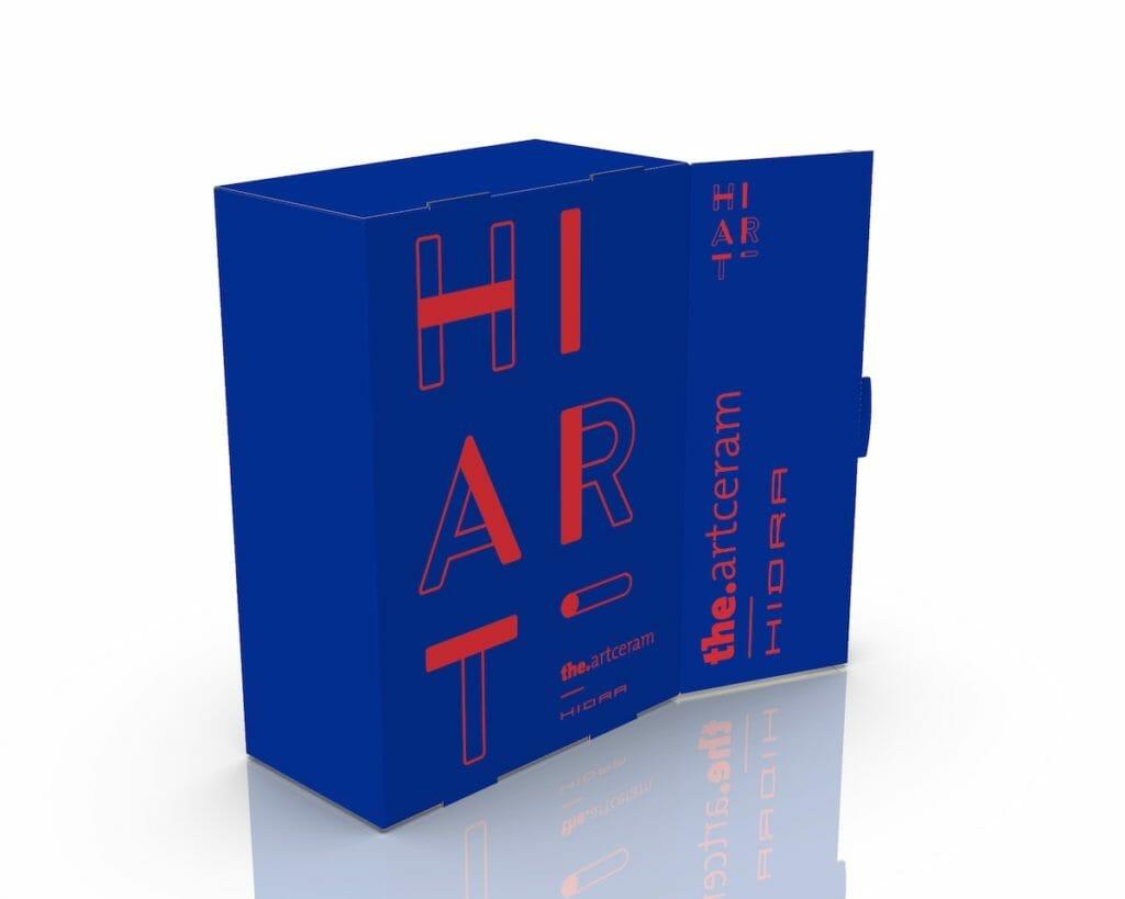 Il box raccoglitore per i cataloghi di Hidra Ceramica